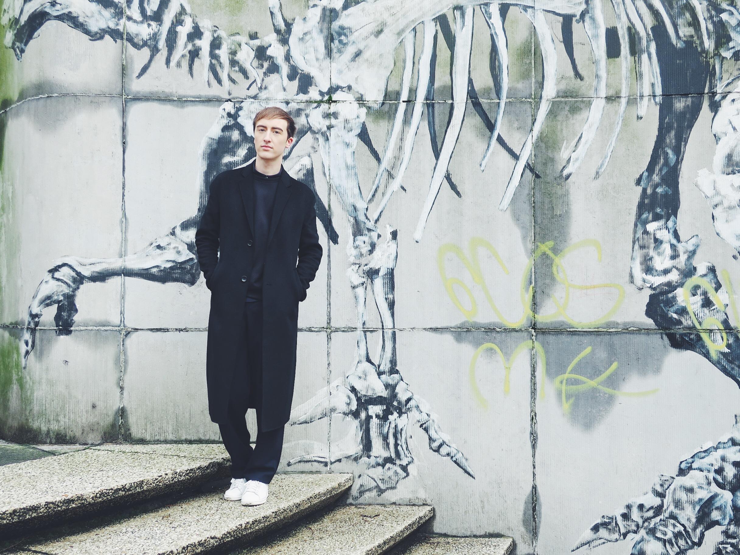 Zara coat - Cos sweater - Cos shirt - Zara trousers - Adidas Stan Smith sneakers