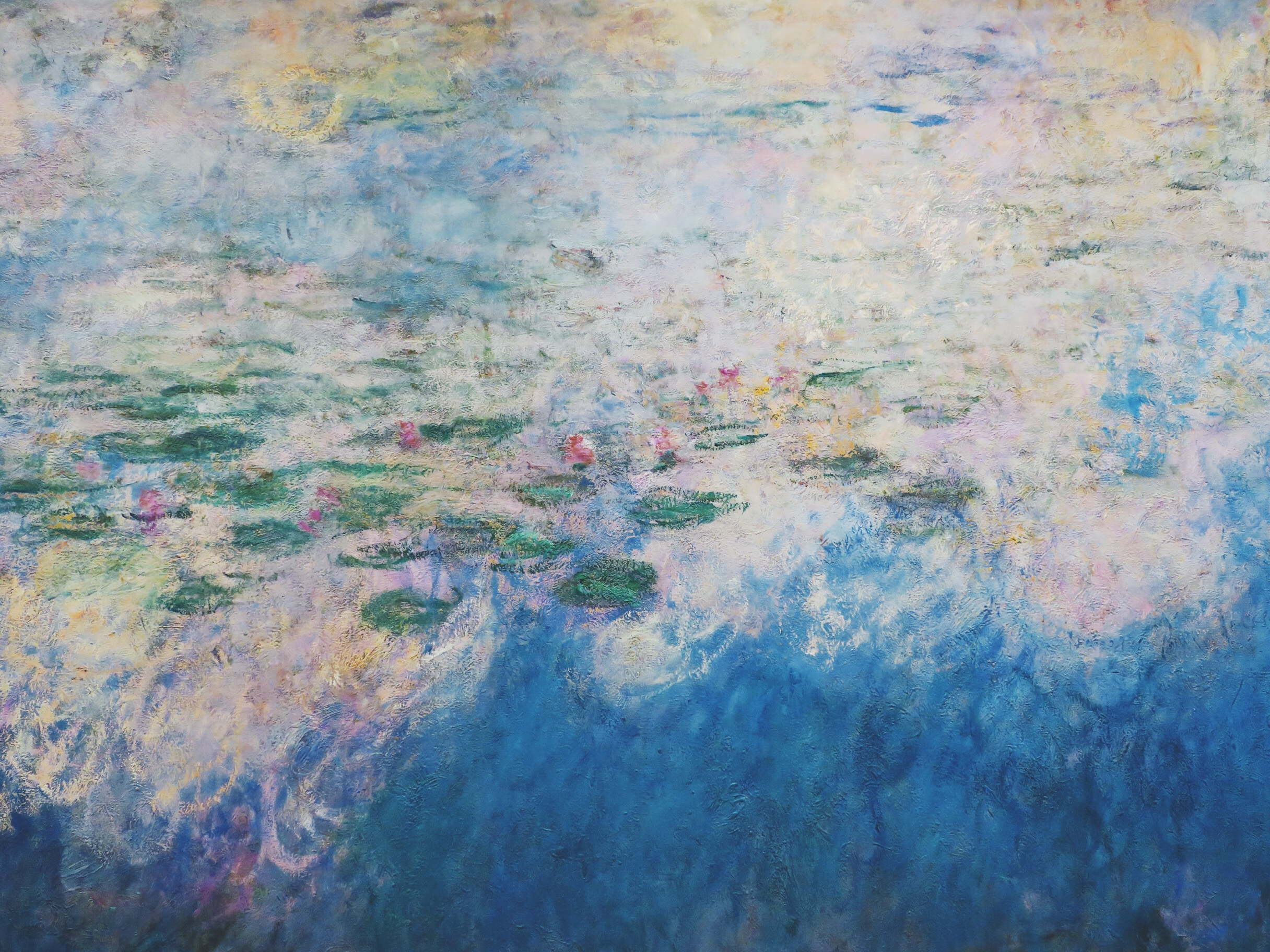 Claude Monet's 'Water Lilies' at the MoMA