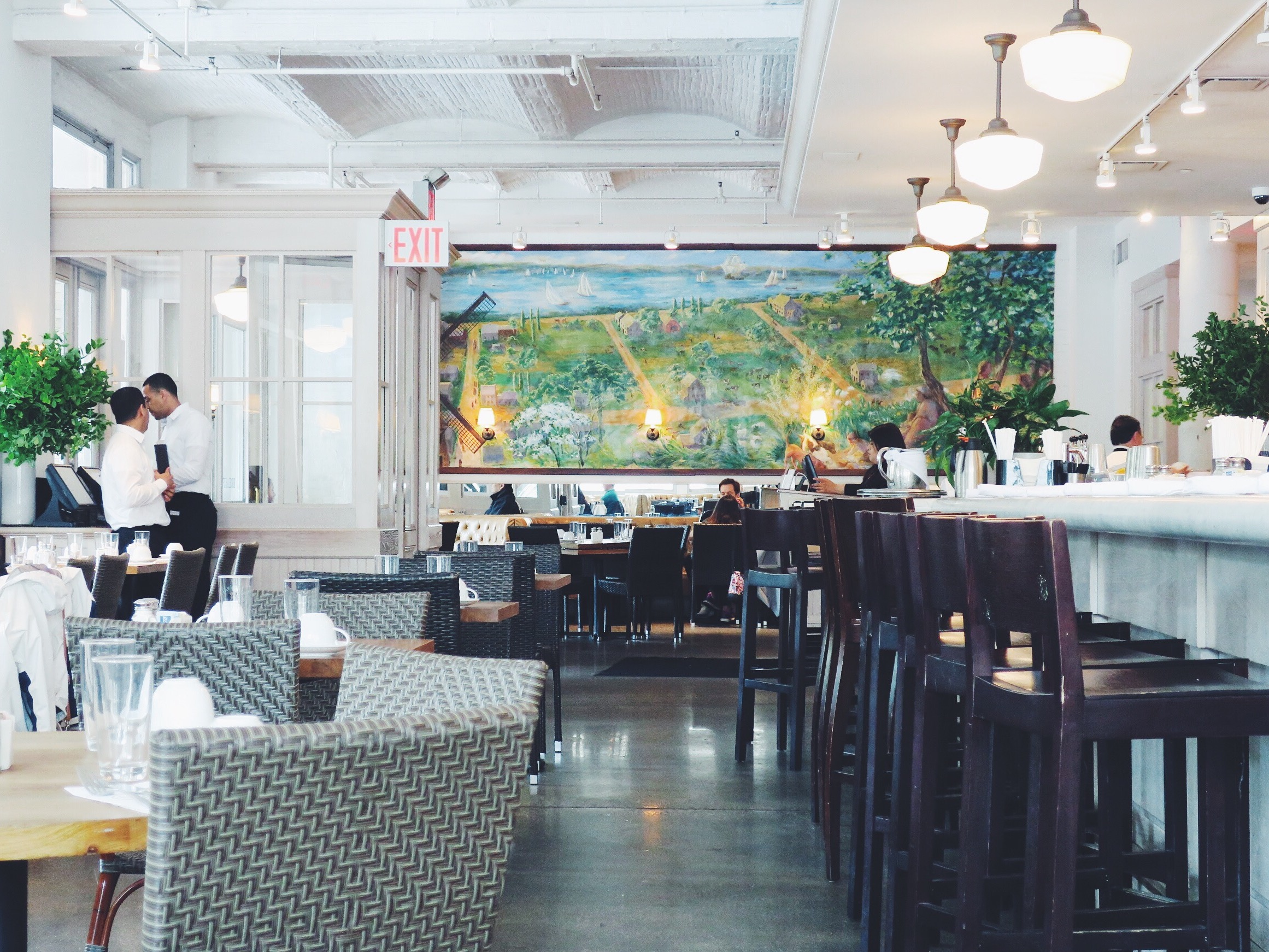 Sarabeth's TriBeCa restaurant