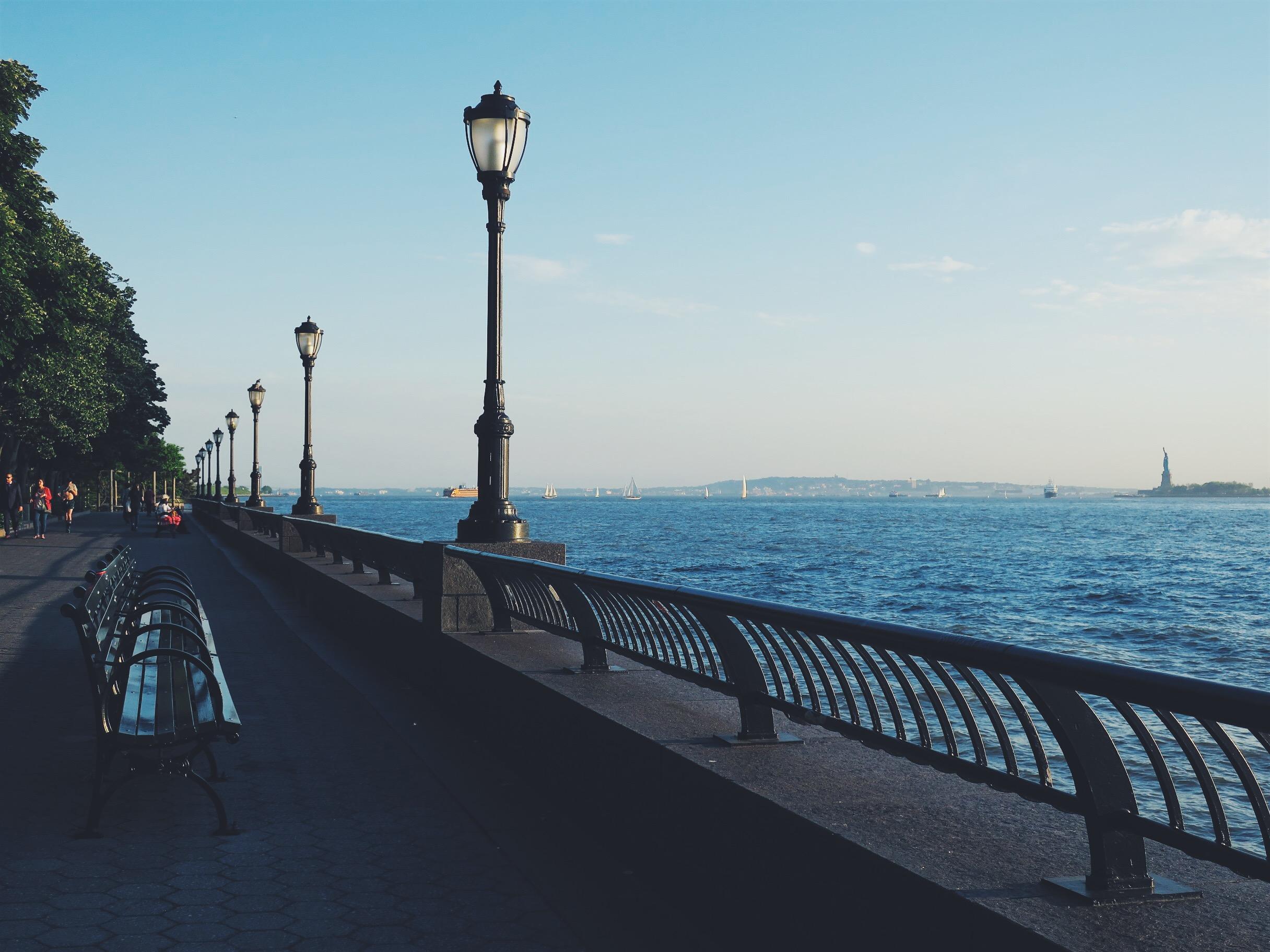 The Esplanade at Battery Park City