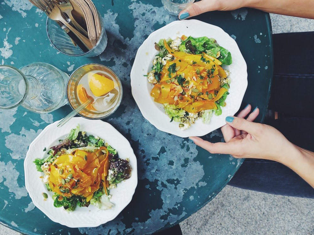 Une salade de quinoa à la citrouille caramélisée, délice!