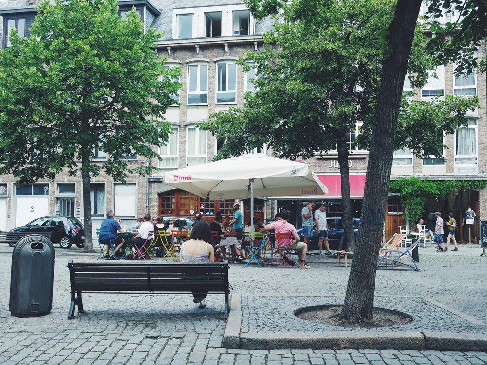 Le paisible Vrijdagmarkt