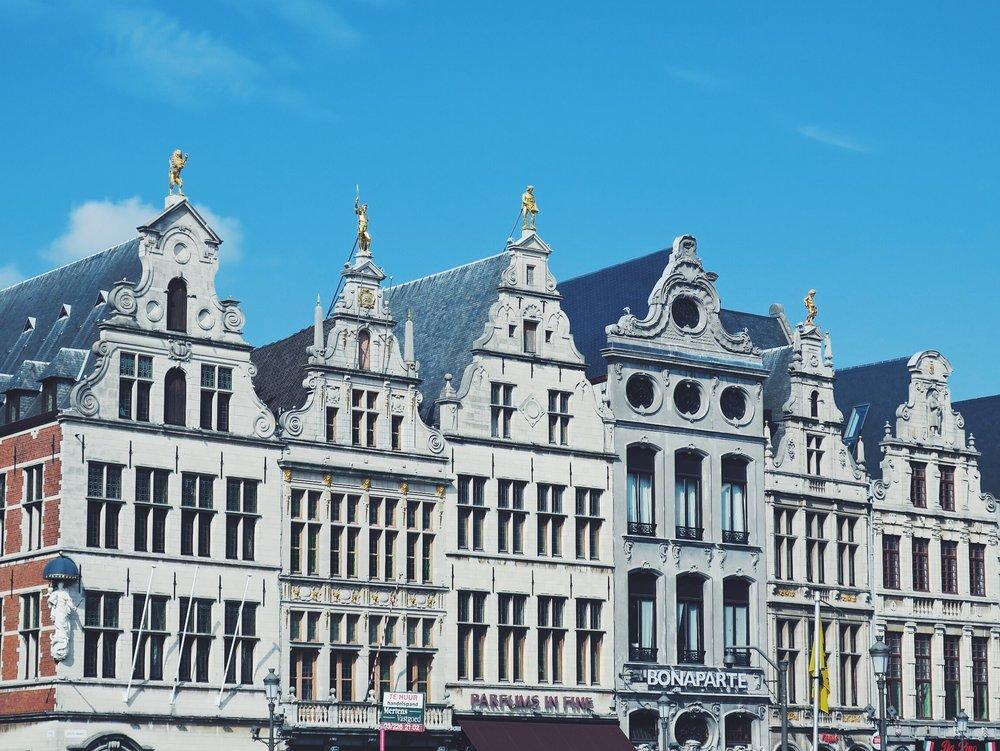 Anvers historique à son meilleur sur la Grote Markt