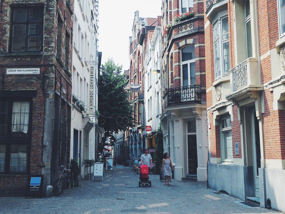 L'une des nombreuses rues pittoresques du centre historique
