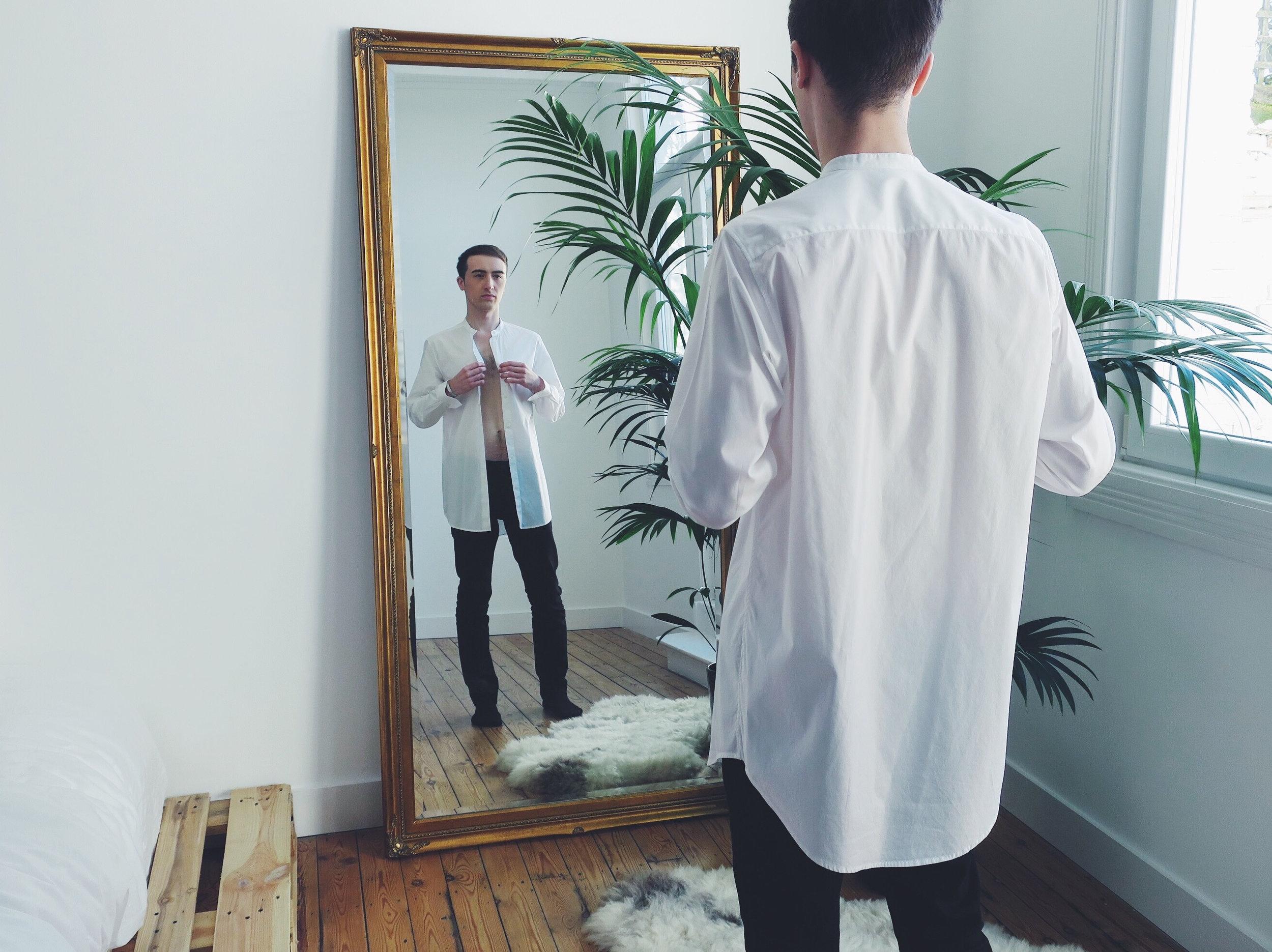 Cos shirt - Calvin Klein jeans via Zalando