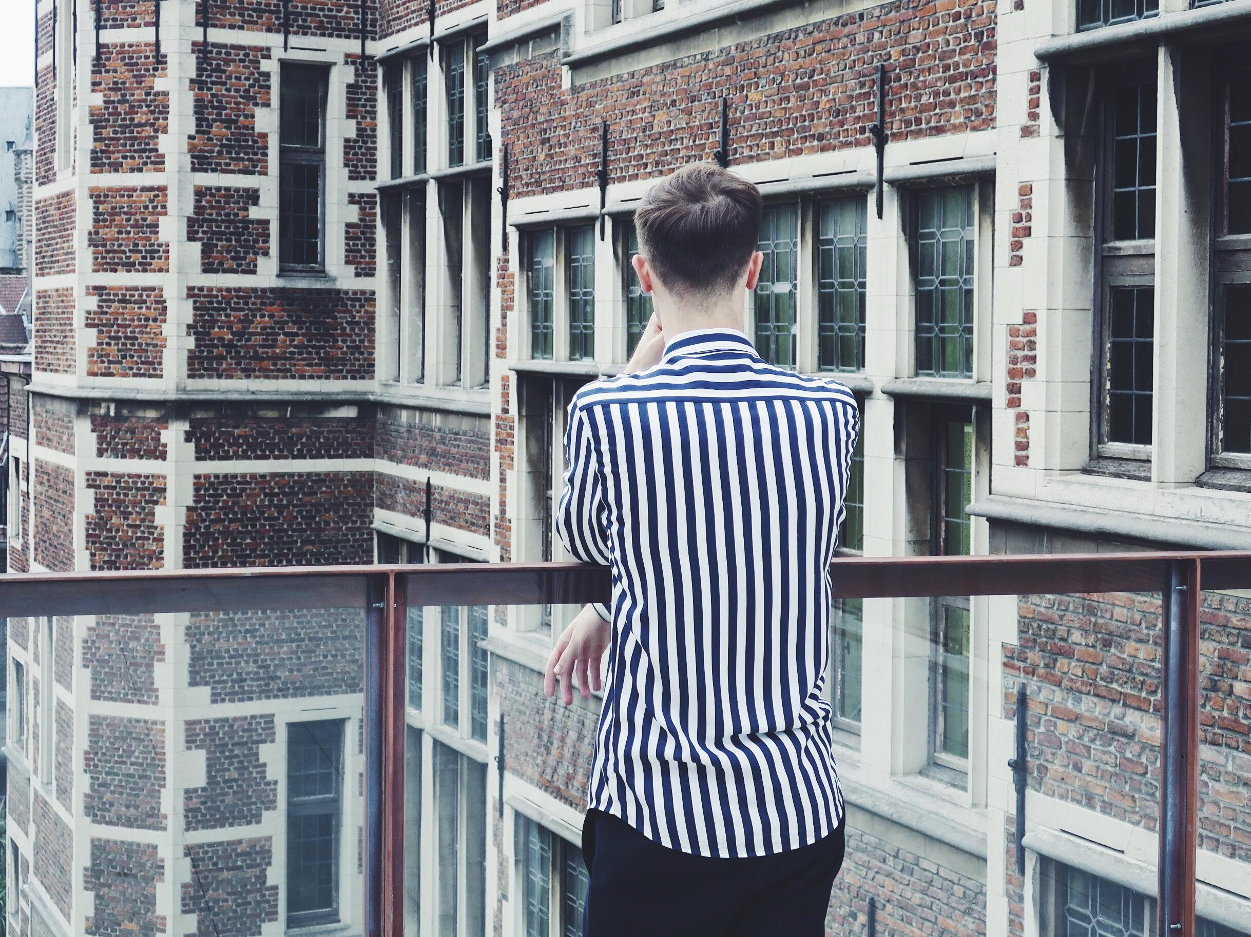 Zara shirt - Cos trousers