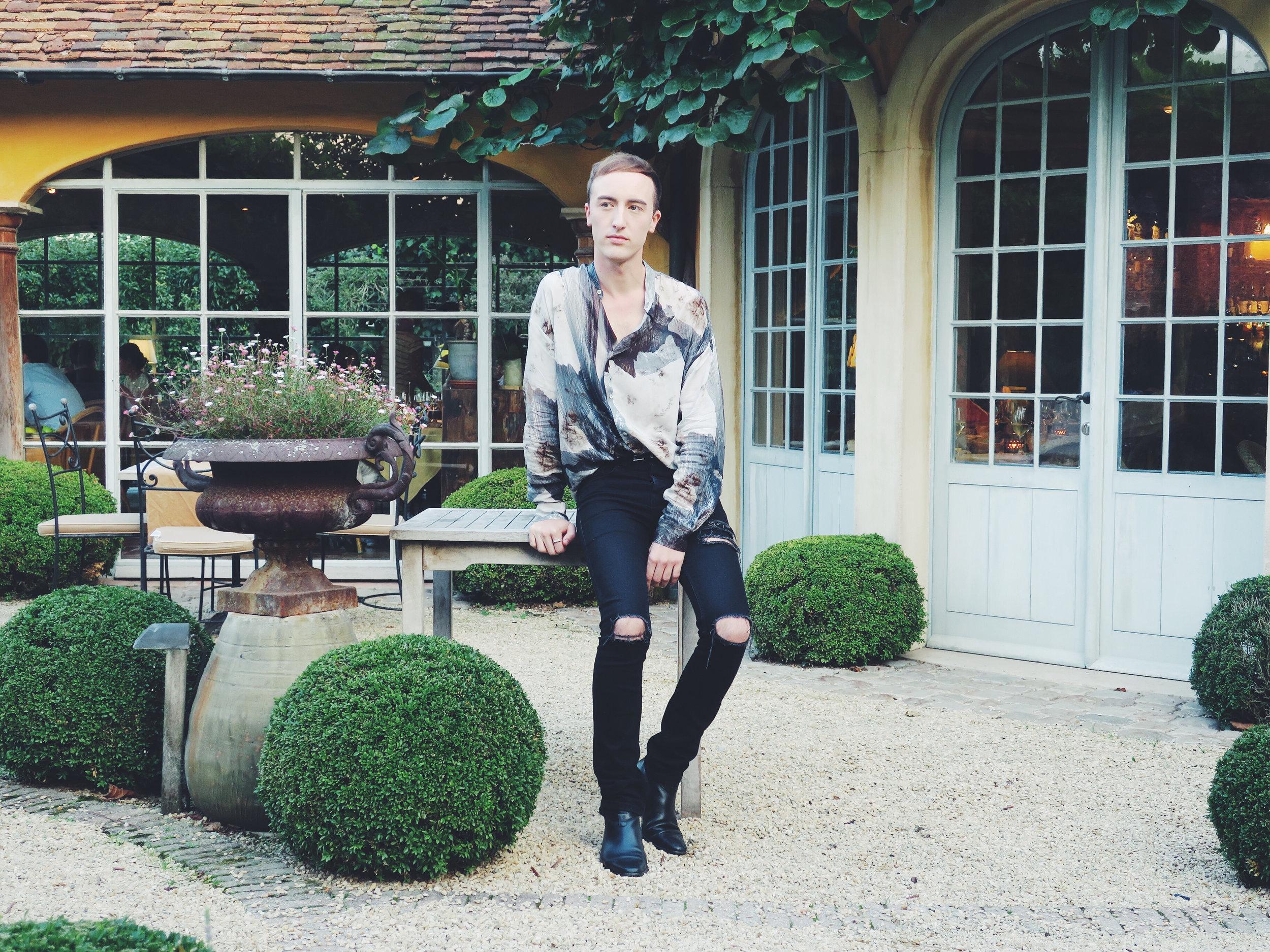 Zara shirt - Asos jeans - Sacha ankle boots