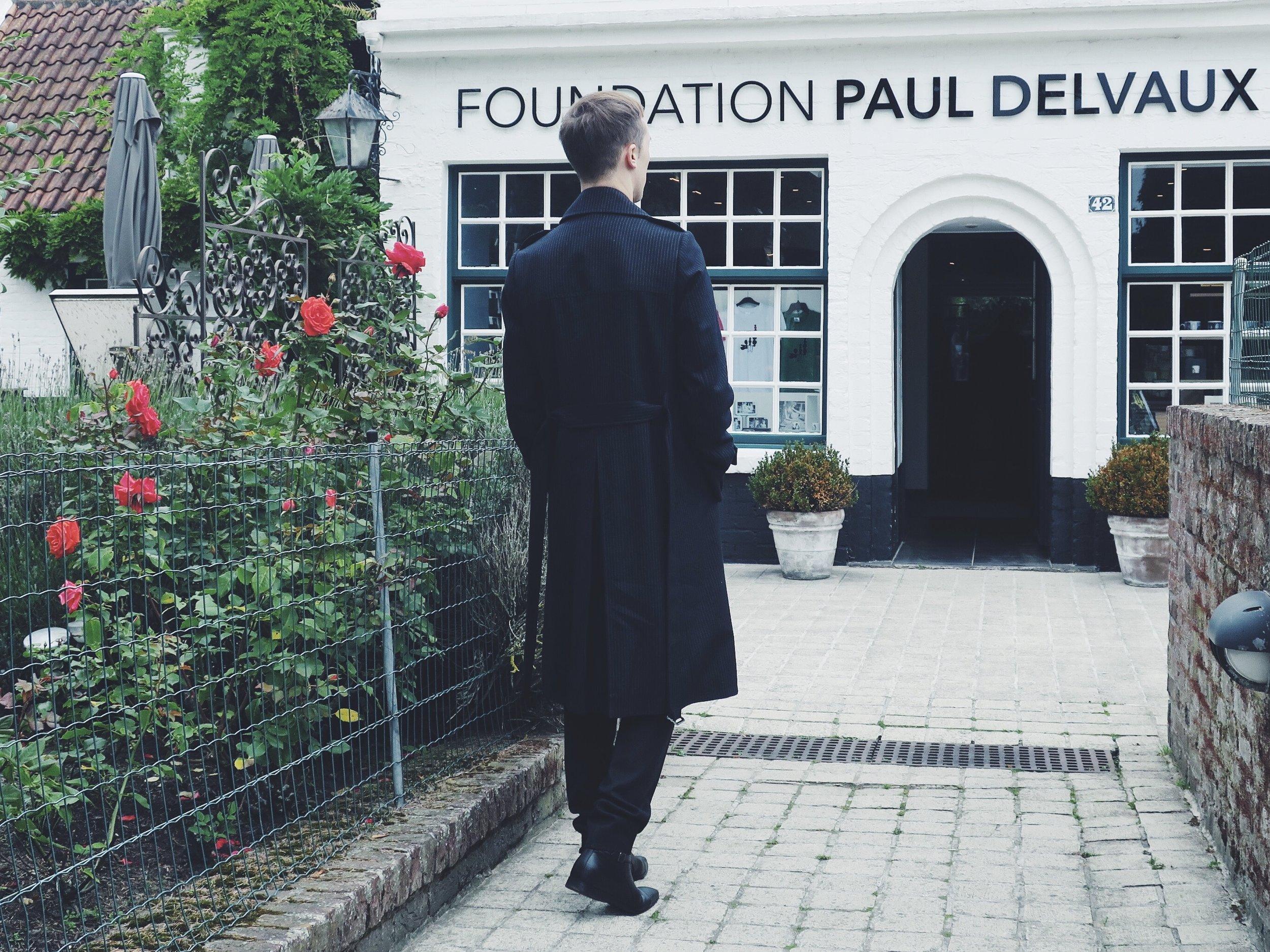 Dries Van Noten coat - Raf Simons trousers - Sacha ankle boots