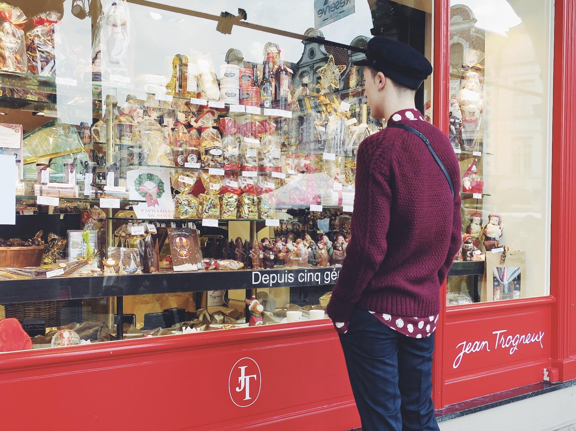 ASOS Design hat - Zara knitwear - Zara shirt - DIGEL move trousers