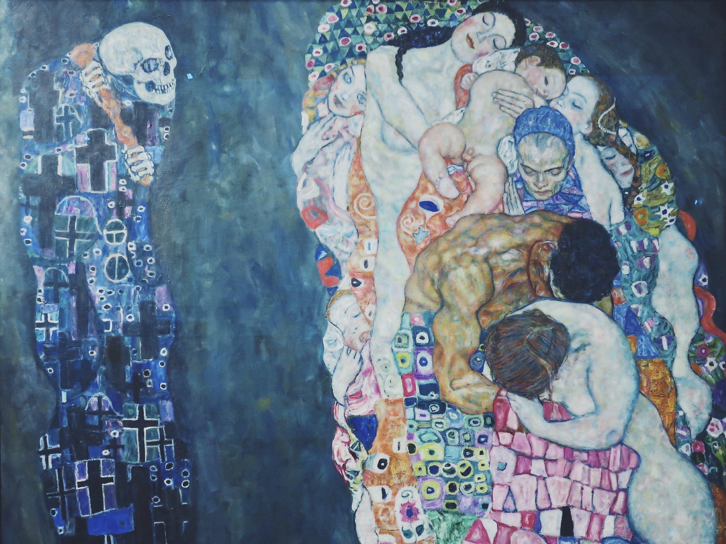 Gustav Klimt's 'Death and Life' (1906-1916)