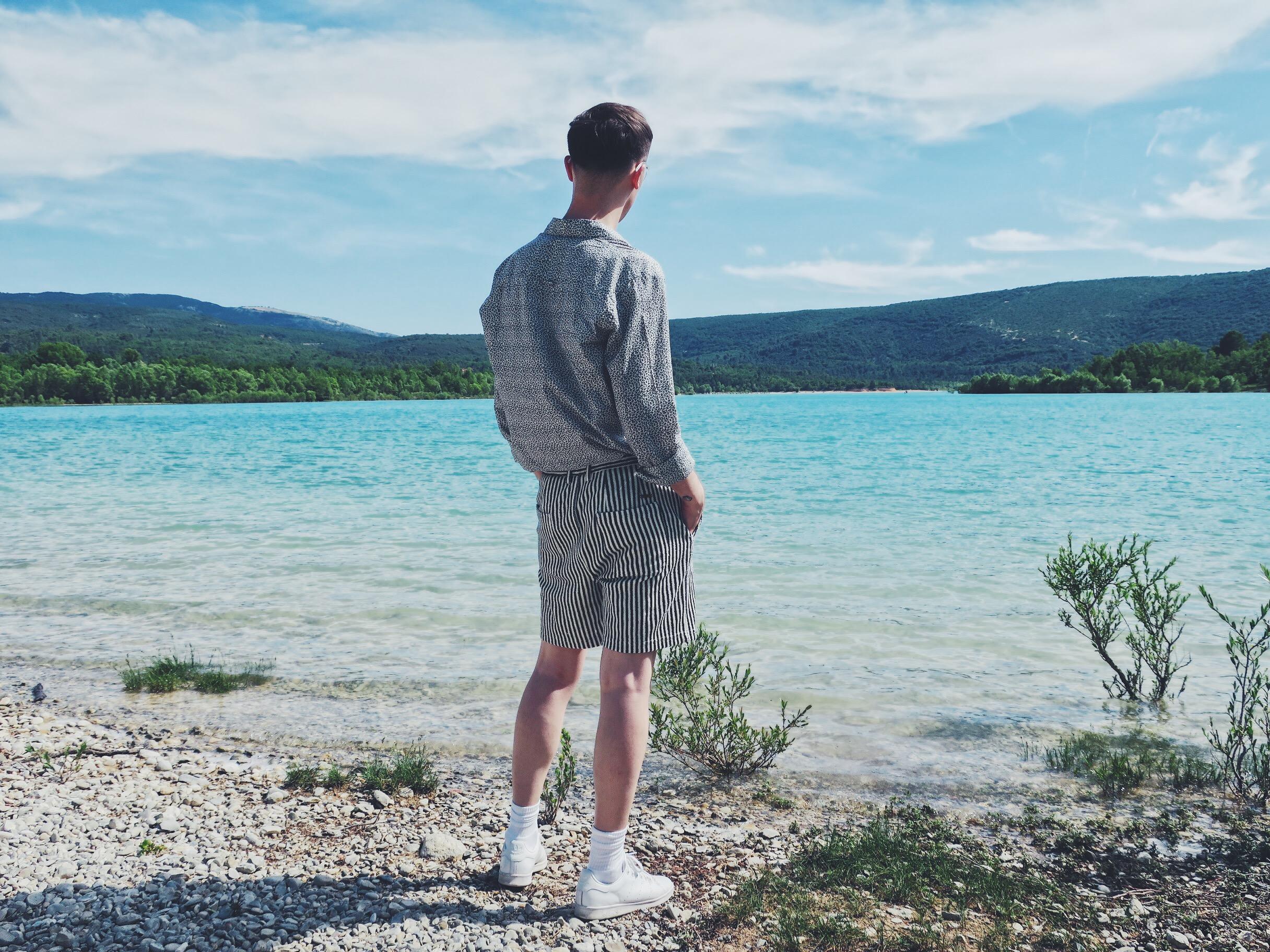 Martinique shirt - Zara shorts - Adidas Stan Smith sneakers
