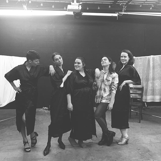 Catch this fierce group of women for a show you will never forget... Yarns opens in just ONE WEEK from today! Grab your tickets now. Link in bio 💋 #theultimatestitchandbitch #WorldPremiereofYarns
