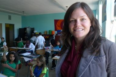 Principal at New Charter School Aims to Create 'Empowered Learners' - DNAinfoBy Leslie Albrecht  September 23, 2013