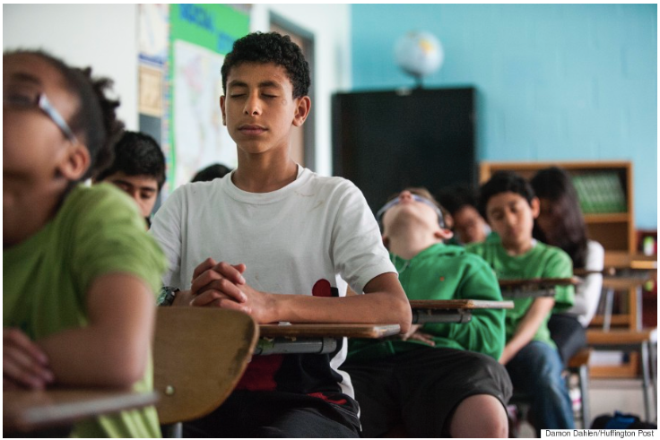 Reading, Writing, Required Silence: How Meditation Is Changing Schools And Students - Huffington PostBy Jaweed Kaleem June 12, 2015