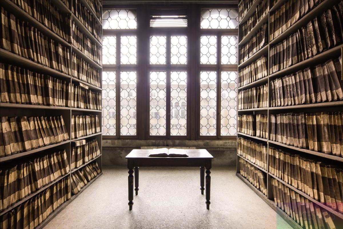 Archivio di Stato, ex convento Santa Maria Gloriosa dei Frari, Venezia © lineadacqua Edizioni Eventi
