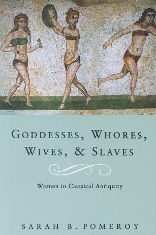 Goddesses, Whores, Wives, & Slaves by Sarah B. Pomeroy   This historical feminist non-fiction had me at the title. With ancient records biased towards political and military history, this book sought to focus on the lesser referred to women of the Greek and Roman Empire. Pomeroy asks, 'When pagan goddesses were, in their way, as powerful as gods, why was the status of human females so low?'.  Recommend?  If  If, like me, you're interested in gender and the historical contexts of the Bible