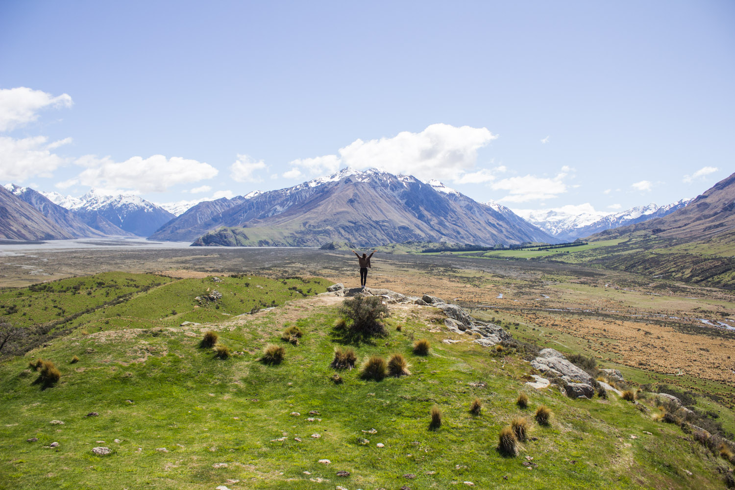Go to a Lord of the Rings film location • Mount Sunday, South Island, New Zealand •