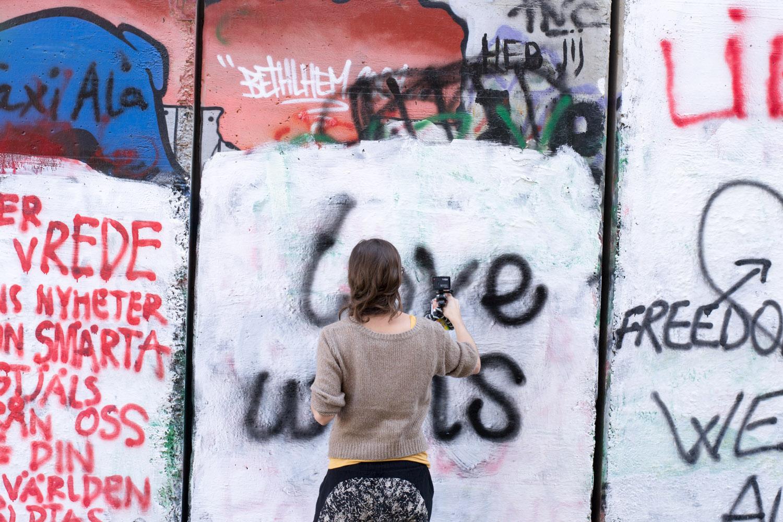 Spray paint • Bethlehem, Palestine •