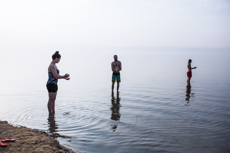 Go to the Dead Sea • Dead Sea, Jordan •