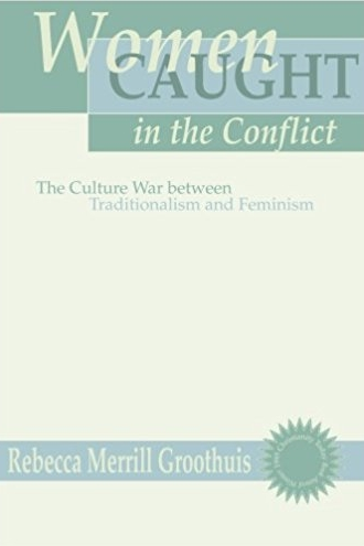 Women Caught In The Conflict by Rebecca Merrill Groothuis   Written to those 'caught in the conflict' between traditionalist and feminist views of women, Groothuis seeks to shed light on each belief system by placing it into its historical and cultural context. In doing so she evaluates different beliefs and discusses the role of women in Church and society today. I found this a great introduction to better understanding feminism, its history and its various facets.  Recommend?  Yes