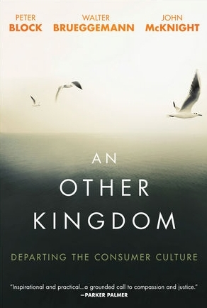 An Other Kingdom by Block, Brueggemann and McKnight   A short Christian non-fiction challenging our assumption that the free market is the only means of progressing. This book is for innocents, rebels, idealists and the sick at heart, outlining a journey to construct a future outside the system's solutions. There is an alternative set of beliefs that have the capacity to evoke a culture where poverty, violence and shrinking well-being aren't inevitable but rather where the social order produces enough for all. The authors call this 'neighbourliness' and I enjoyed their recommendation of slowing life down.  Recommend?  No