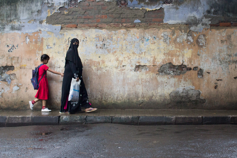 The school run, Kolkata style • Kolkata, India •