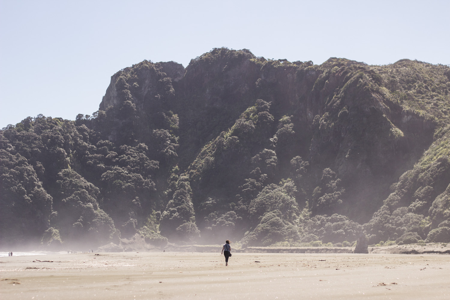 Me and my friends were newly in New Zealand and full of awe at its scenery. • North Island, New Zealand •