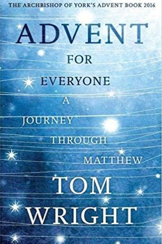 Advent For Everyone - A Journey Through Matthew by Tom Wright   Tom Wright, a British theologian, journeys through the Gospel of Matthew exploring the themes of watching, repenting, healing and loving. This daily devotional steers you through the advent season with four weeks of passages and supplementary thoughts to read through.  Recommend?  Yes