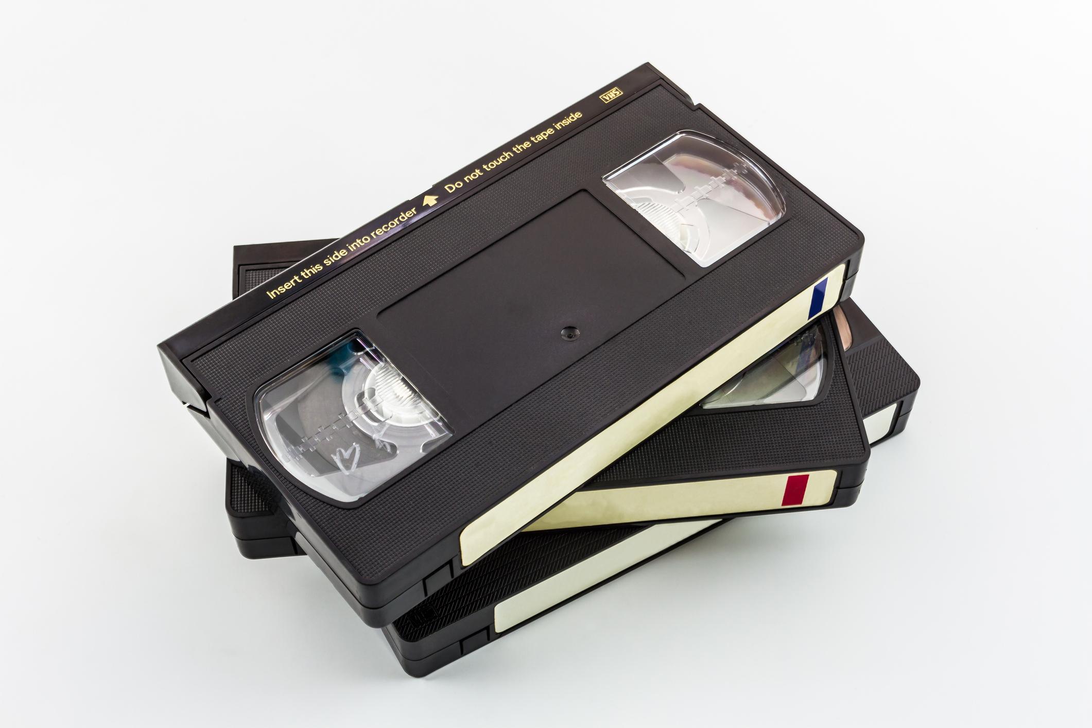 VHS Video Tape transfer convert to DVD