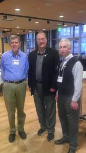 Western Planner founder Stan Steadman, 2014 President's Award winner Ken Waido and 2014 WPR President Dan Pava