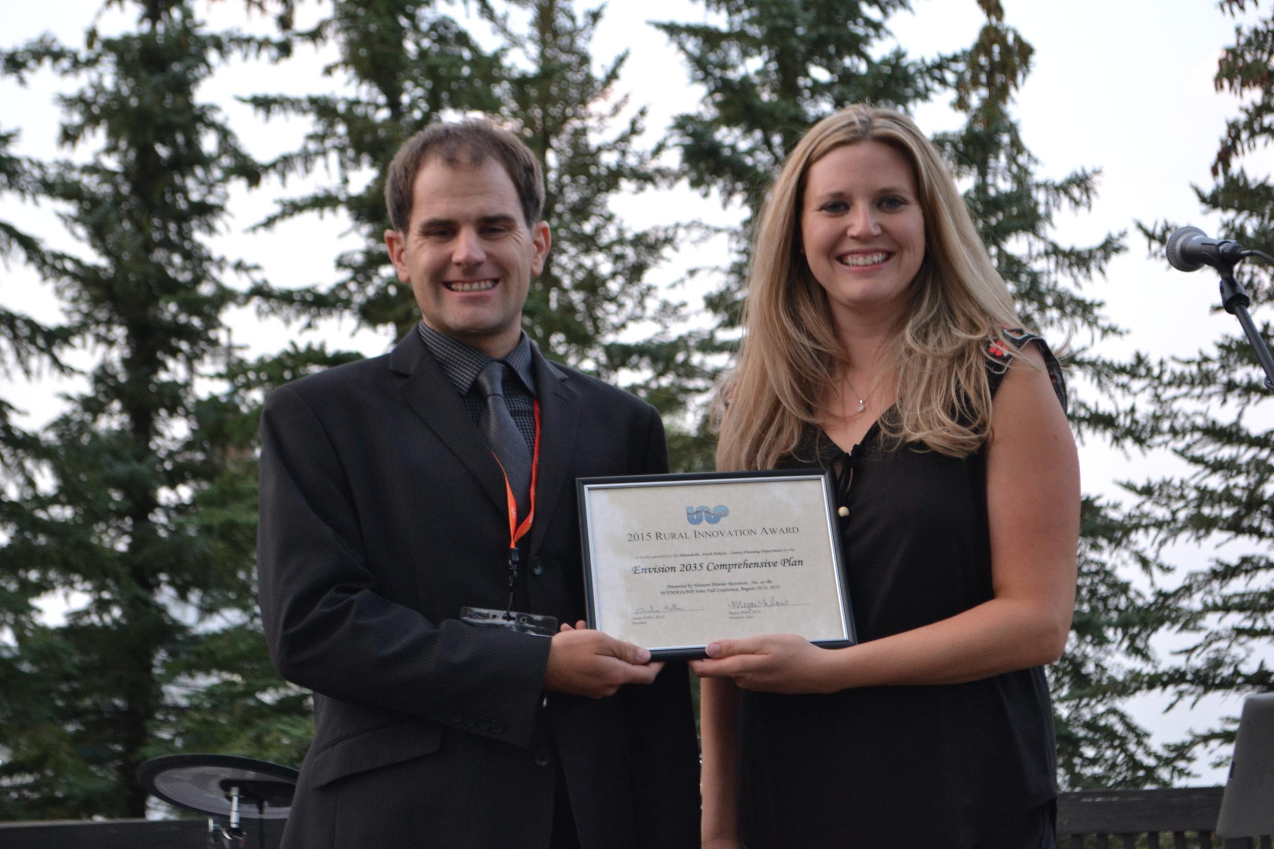 Rural Innovation Award — Minnehaha County, South Dakota