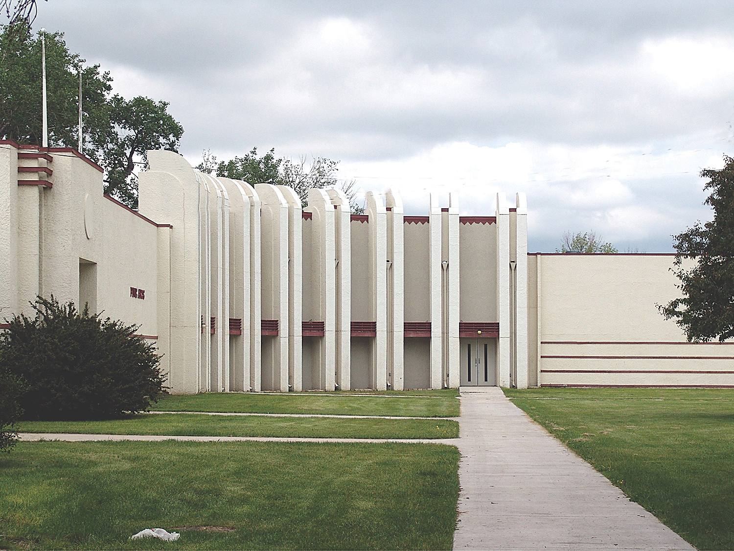 The Fine Arts Building is another example on the fairgrounds. Photo by Ben Chovanak.