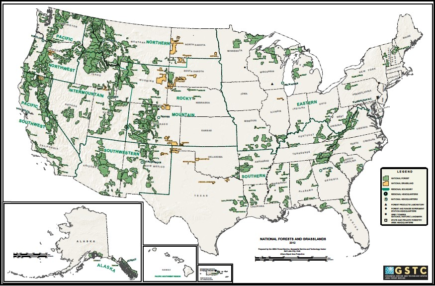 Federal Lands in the West: A few facts and figures — The ...