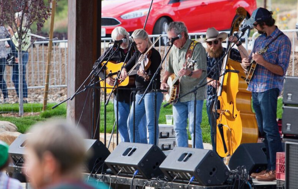 Local bluegrass flavor at a Twin Buttes soiree. Photo courtesy of Terri Pauls.