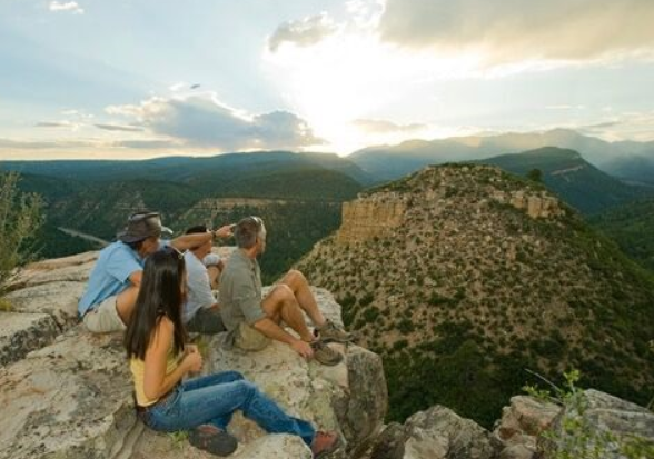 The Twin Buttes parting shot – why people live in Durango.
