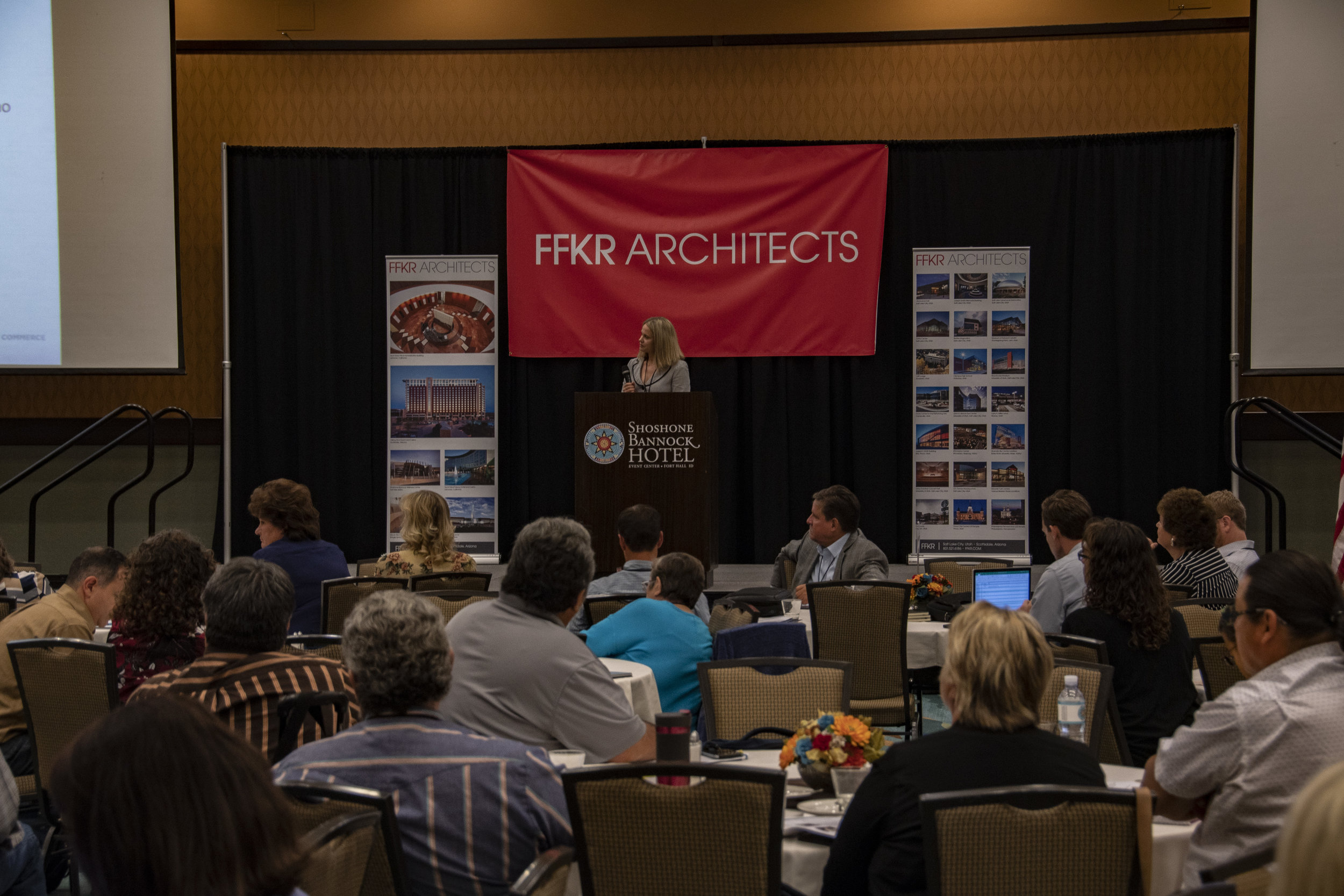 Bobbi-Jo Meuleman, Director of the Idaho Department of Commerce, was one of this morning's keynote speakers.