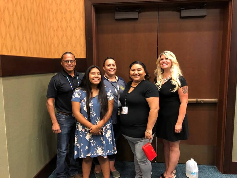 A special thank you to the  Shoshone-Bannock Tribe's  Planning staff, who organize and run this year's conference. Photo by Timothy Hoone