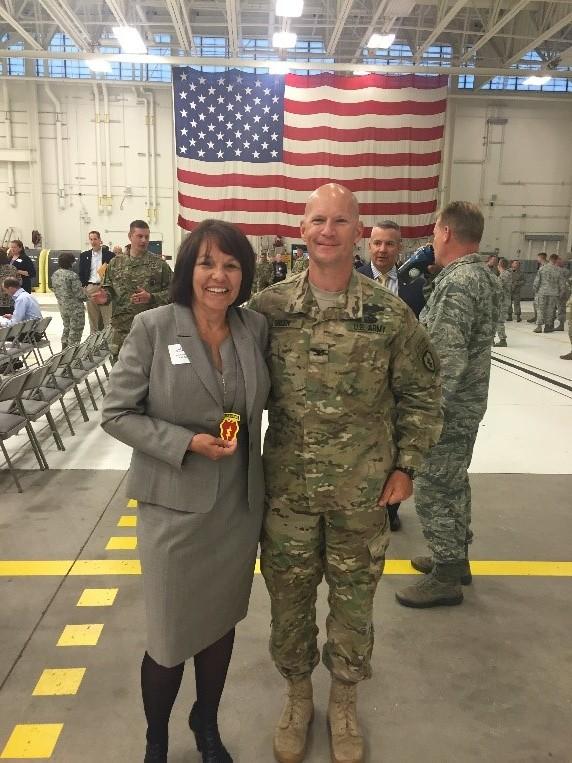 Honorary Commander Induction – Carol Wong