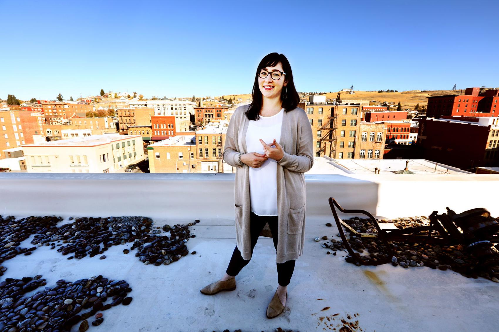 """Julia Crain: """"The place I wanted to be an urban planner was here."""" Meagan Thompson, The Montana Standard"""