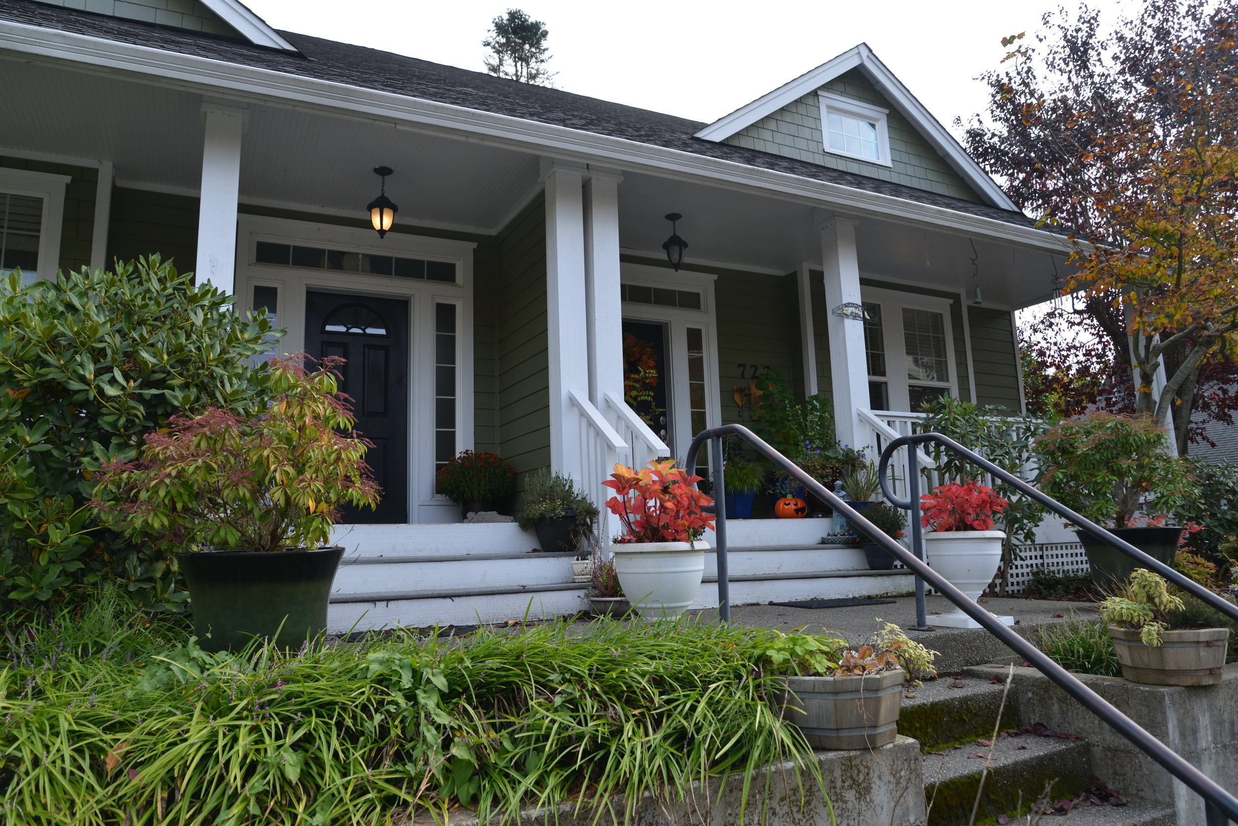 Briggs Village: Townhouses – One type of Missing Middle Housing. Olympia's code changes removed larger setbacks and other restrictions on townhouse development.