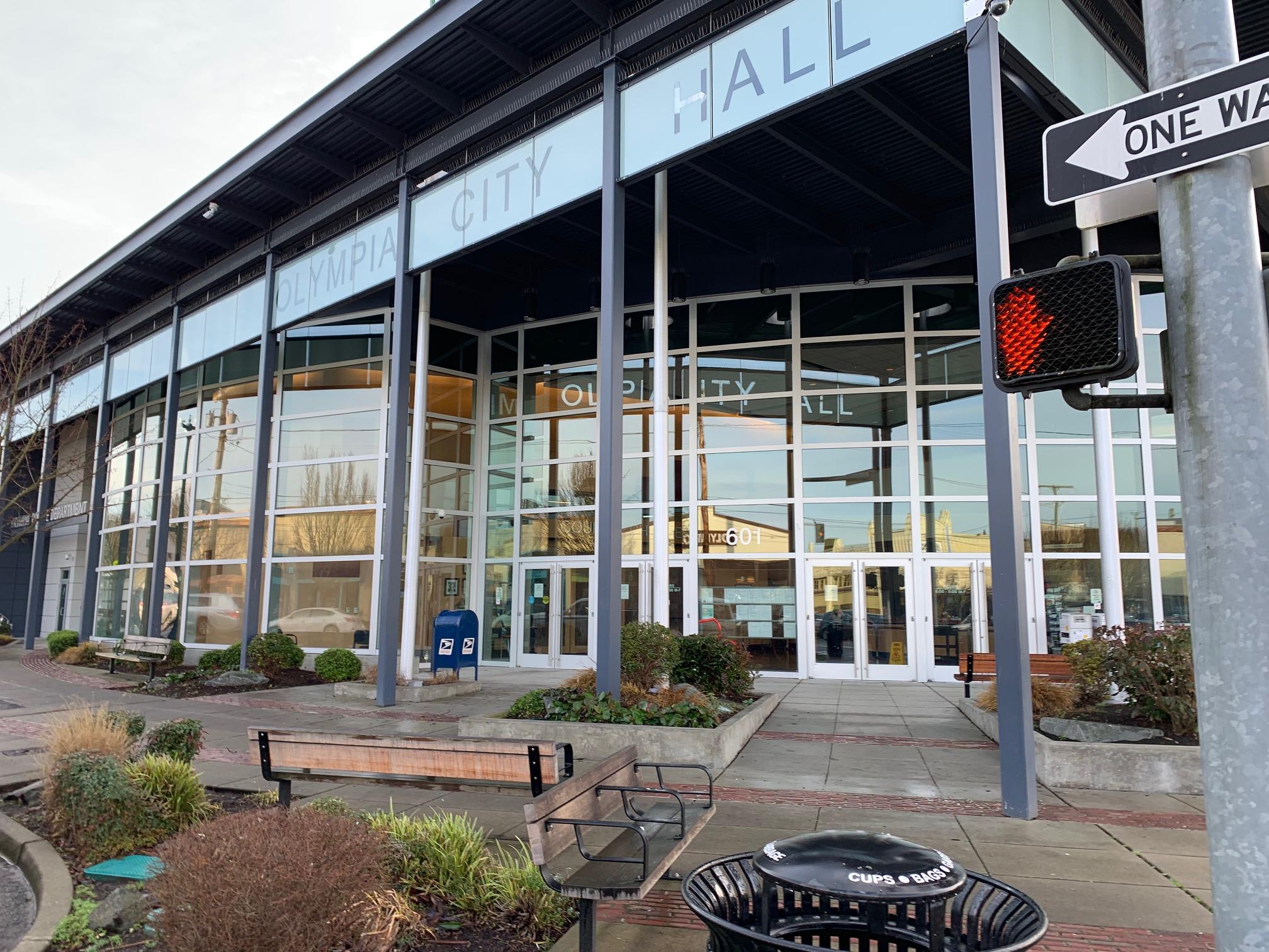Olympia City Hall: Courtesy - Candi Millar