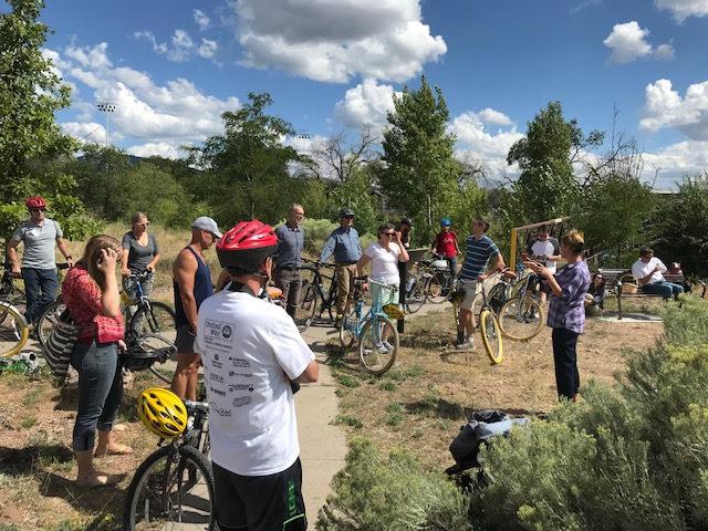 The mobile bike tour