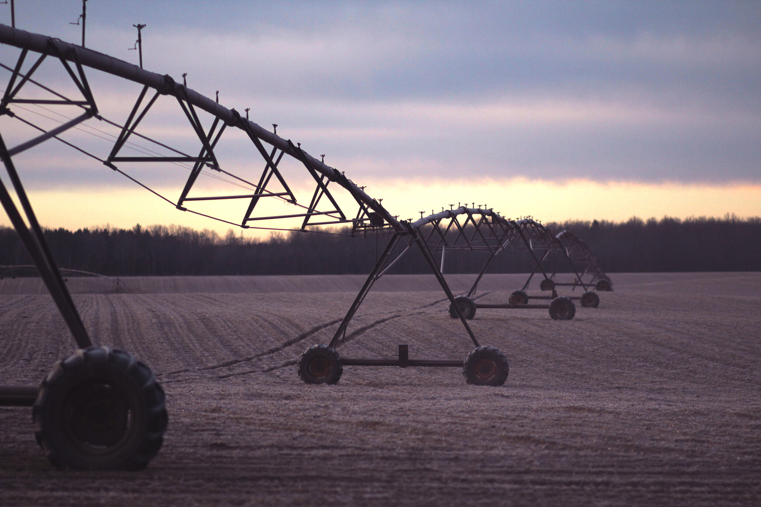 Agricultural uses typically demand significant water