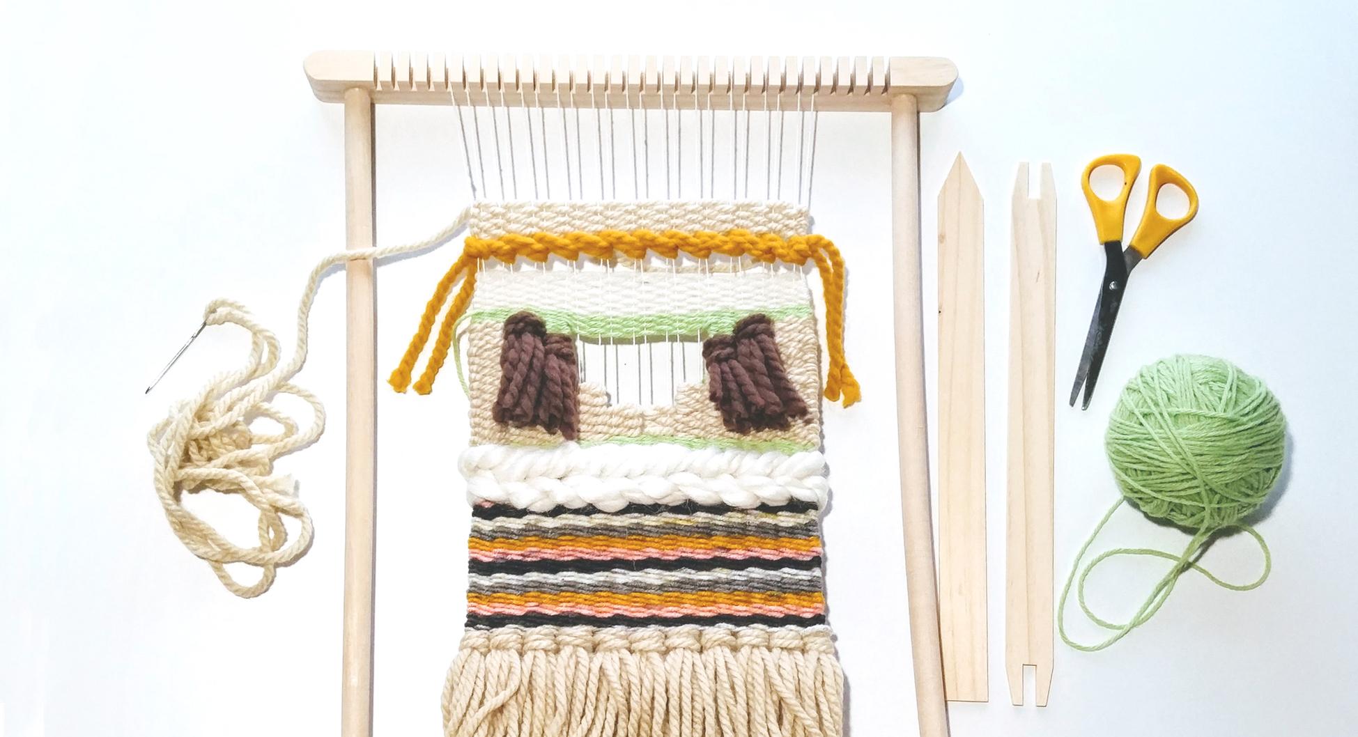 Beginner's Loom Weaving Class — Assembly // Craft DIY Workshops