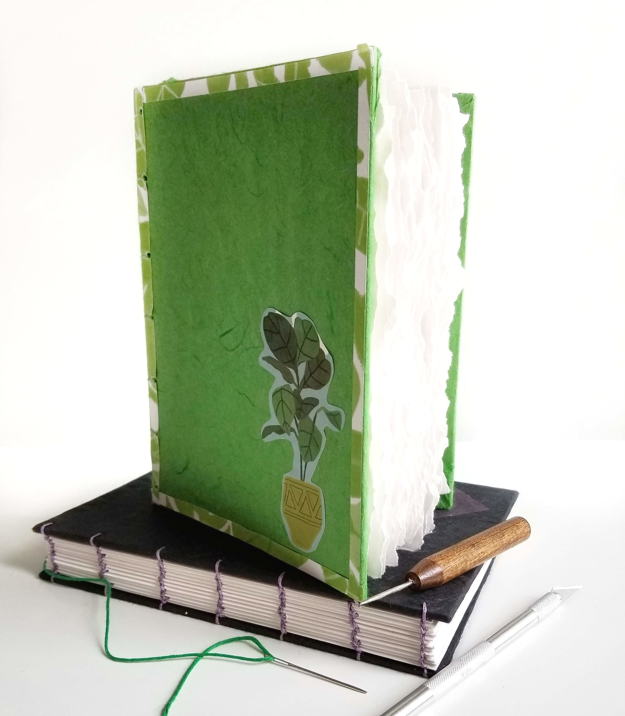 bookbinding-coptic-stitch-workshop-portland