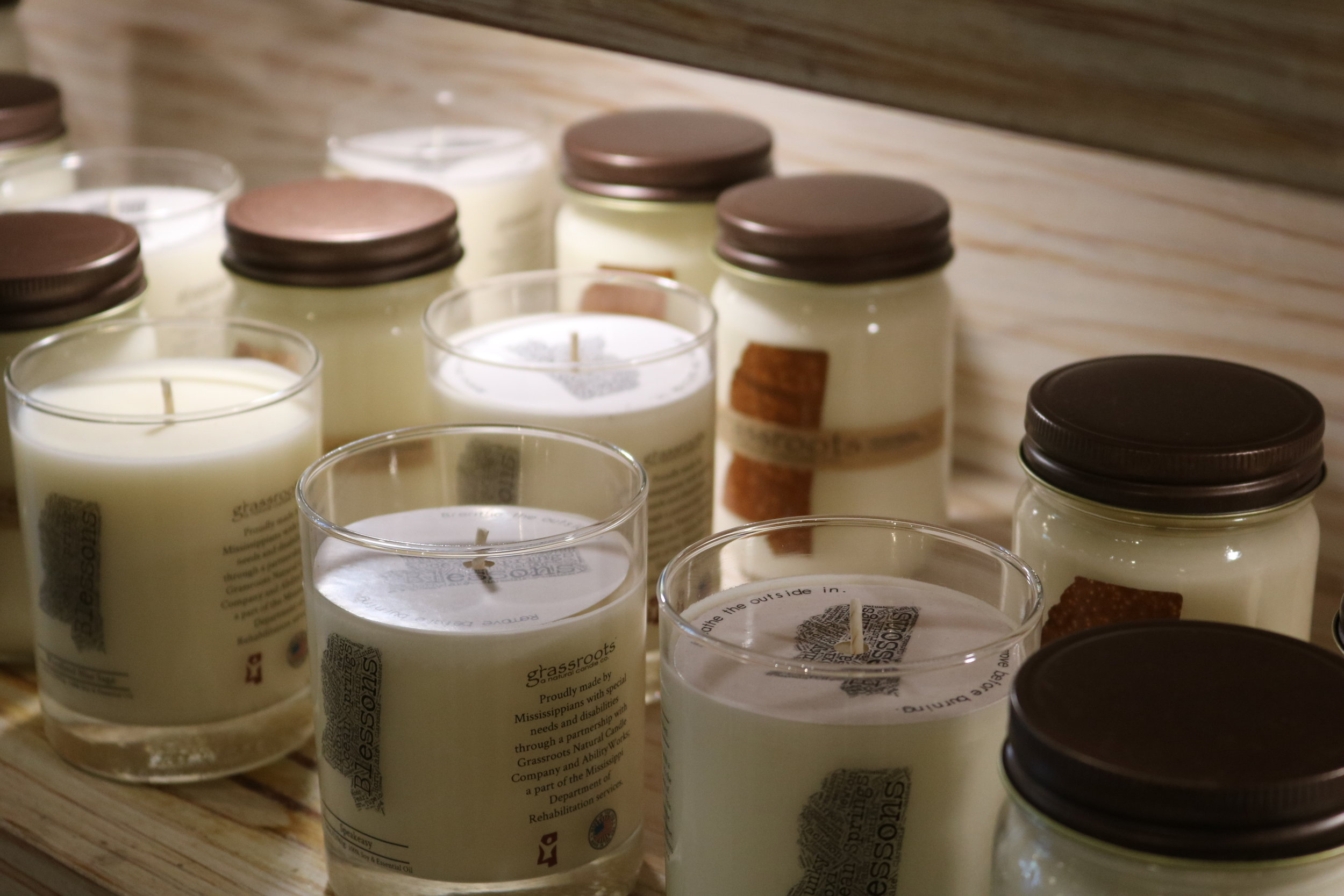 Grassroots Natural Candle Co.