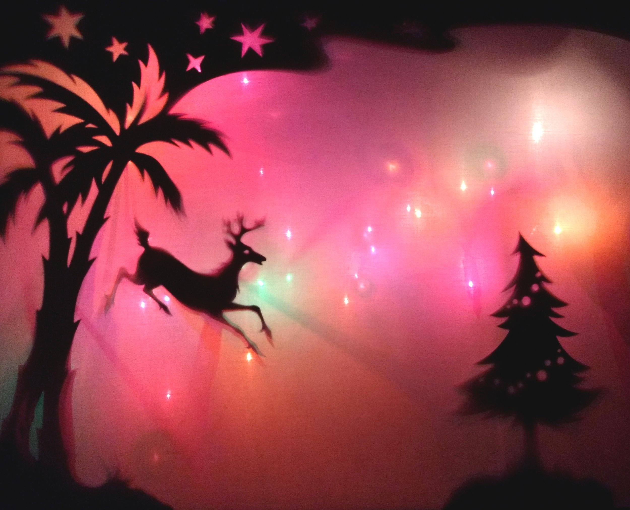 Christmas shadow puppets workshop