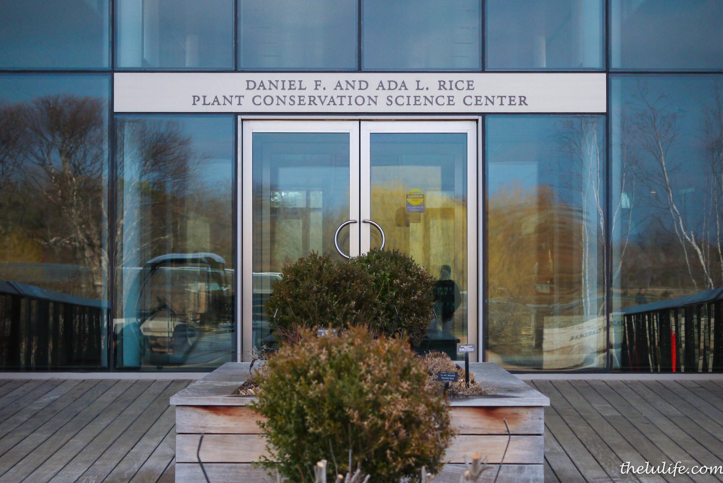 The new Plant Science Center where our retreat was held!  It's a beautiful space with labs and two Green Roof Gardens!
