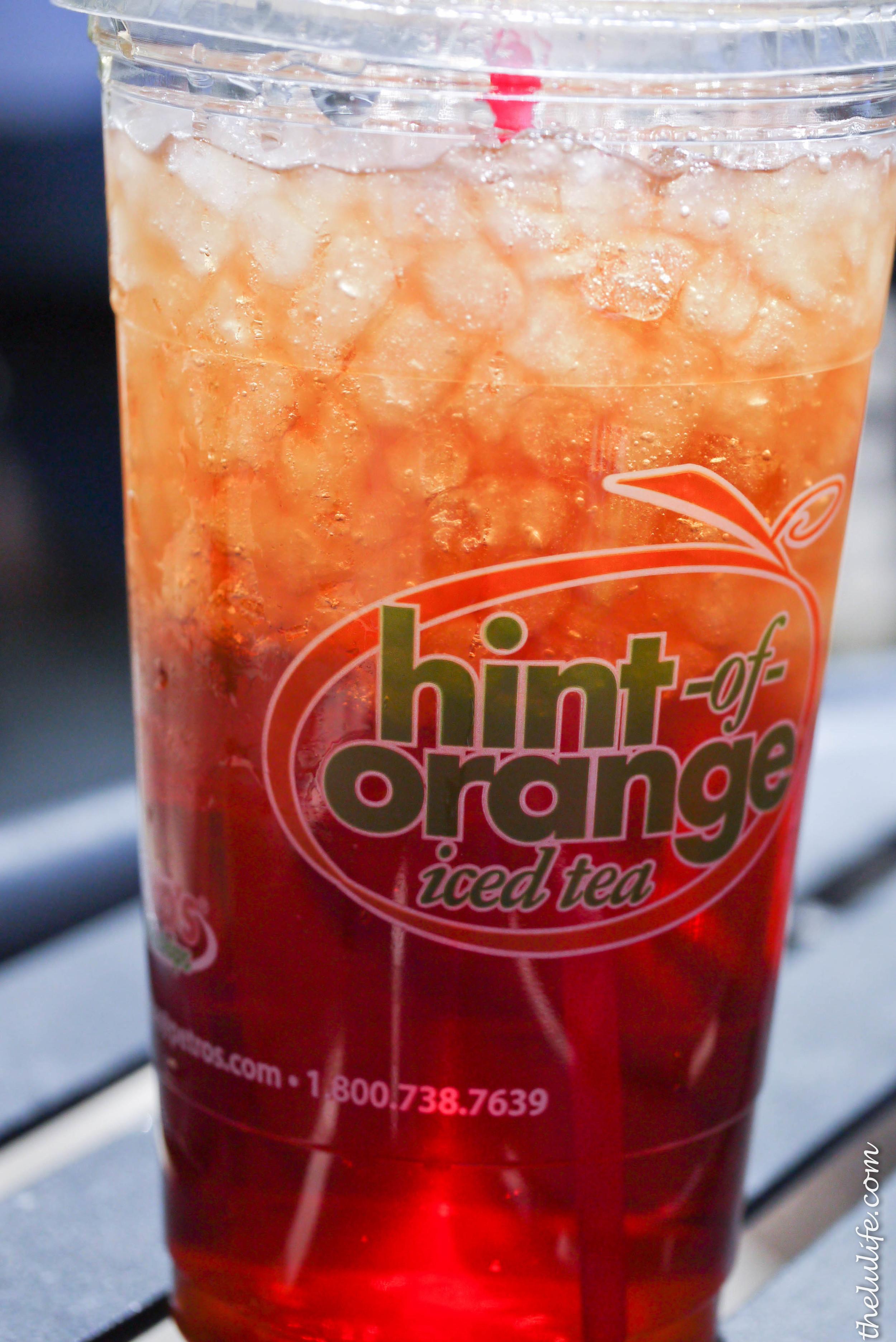 Figure 2. Orange iced tea