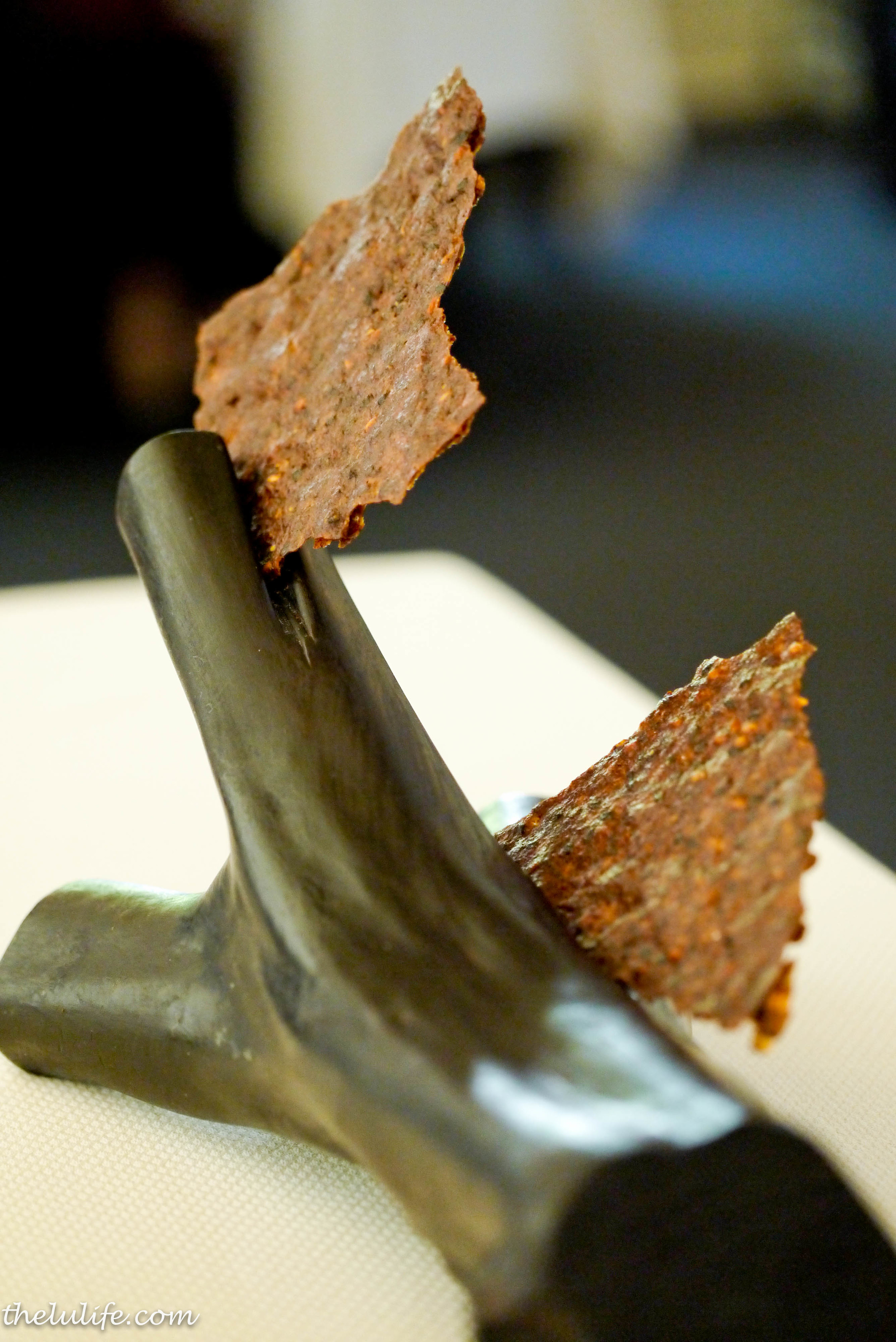 Course #3: Onion seed crackers